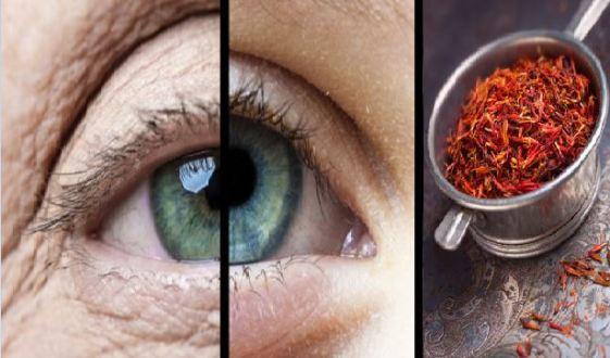 زعفران و افزایش بینایی