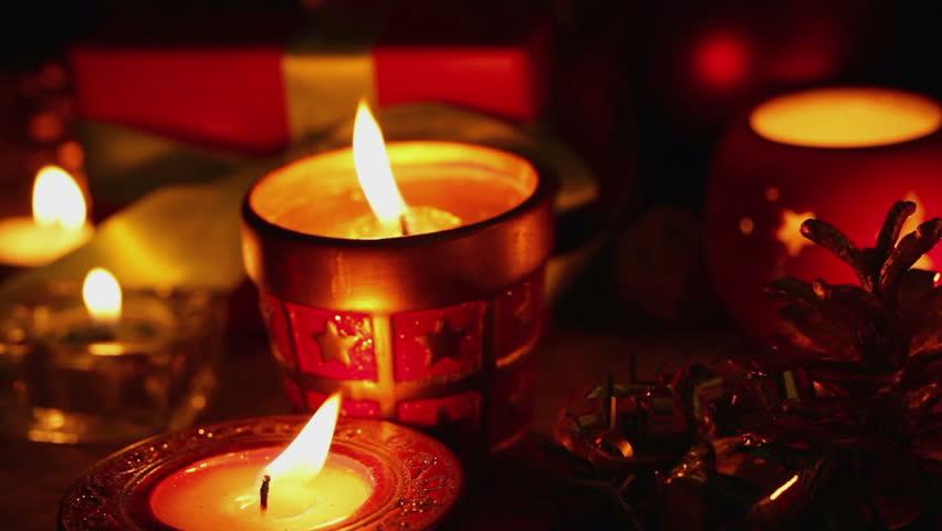 ساختن شمع با زعفران