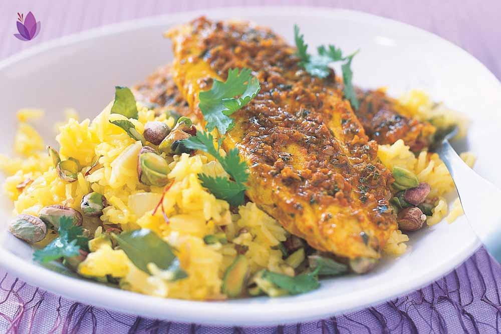 ماهی زعفرانی، شاهکار استفاده زعفران در غذا